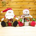Plush Decorative cheap christmas gift,christmas candy jar