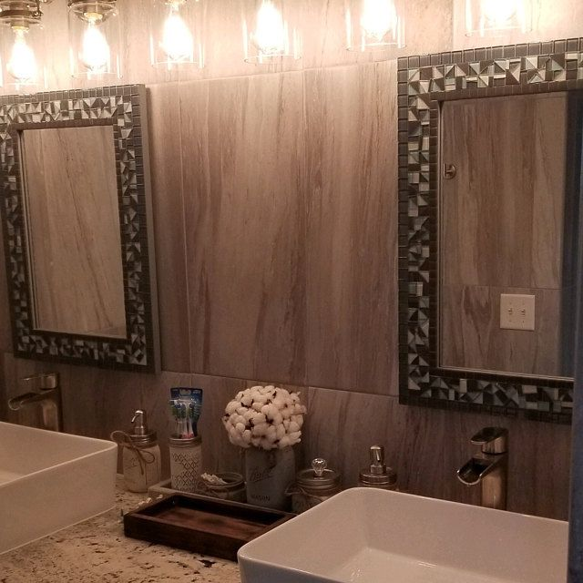 Mosaic Mirror Bathroom Large, Large Wall Mirrors For Bathroom