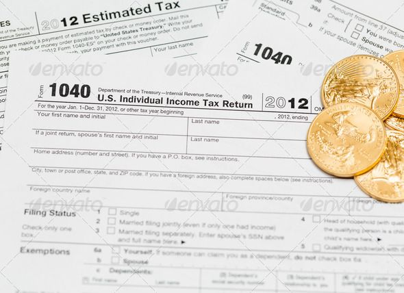 Us Tax Form  With Magnifying Glass    Form Irs Account