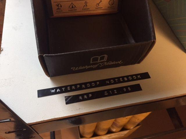 Product signage