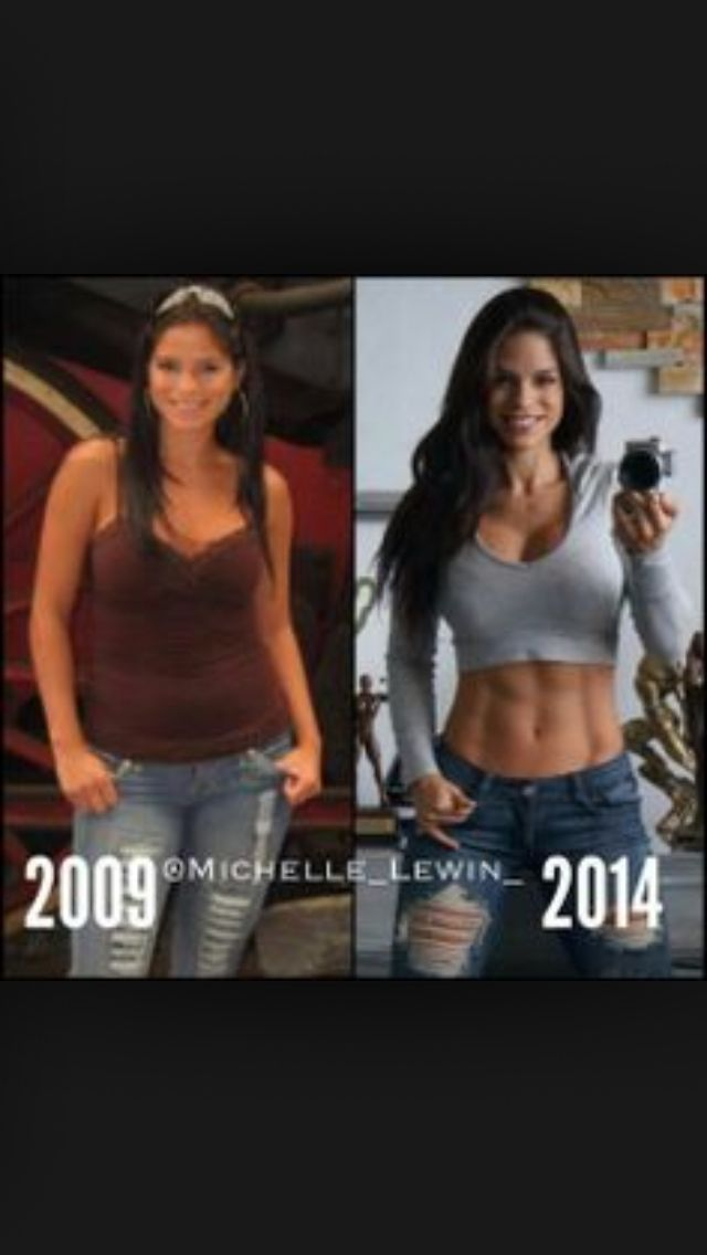 Michelle lewin before breast implants