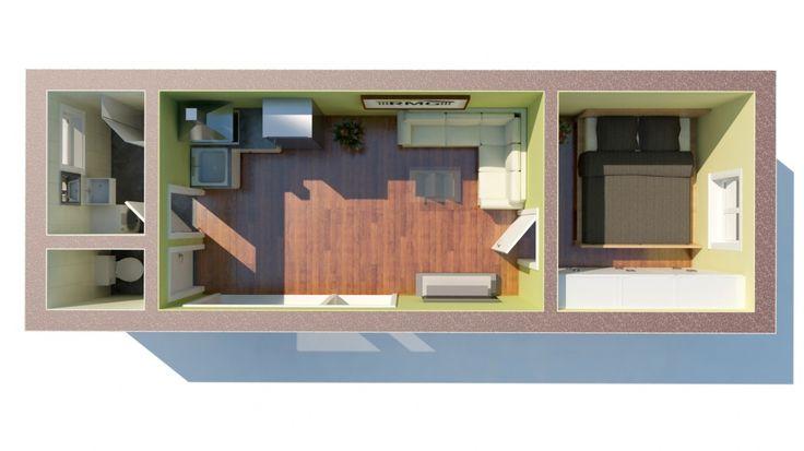 Jednomodul Medium | Modulárné drevostavby