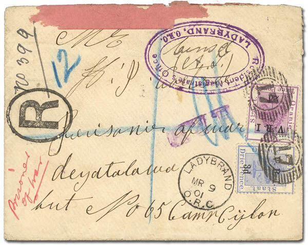 CEYLON Boer War Hut 65