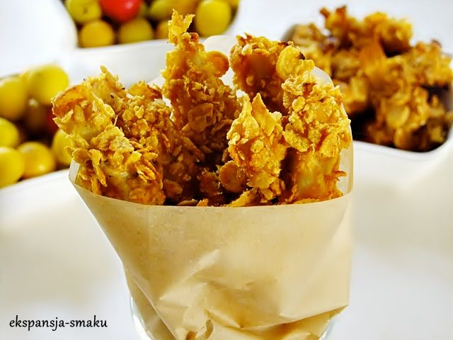 Nuggetsy z kurczaka. Przekąska dla dzieci i dorosłych. Food