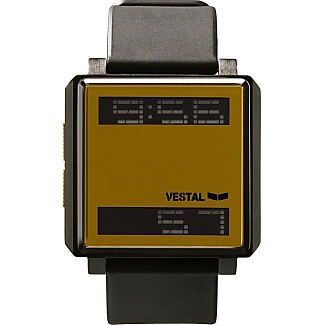 Vestal Transom Watch | Black/Gold