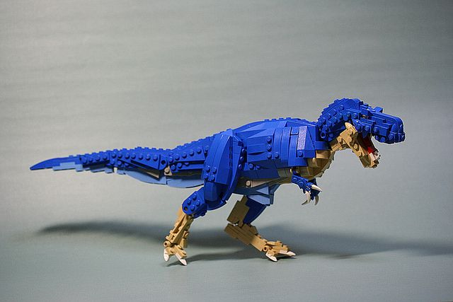 LEGO Tyrannosaurus by aurore, via Flickr