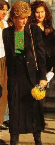 Activités de Diana du mois d'Octobre 1993 _