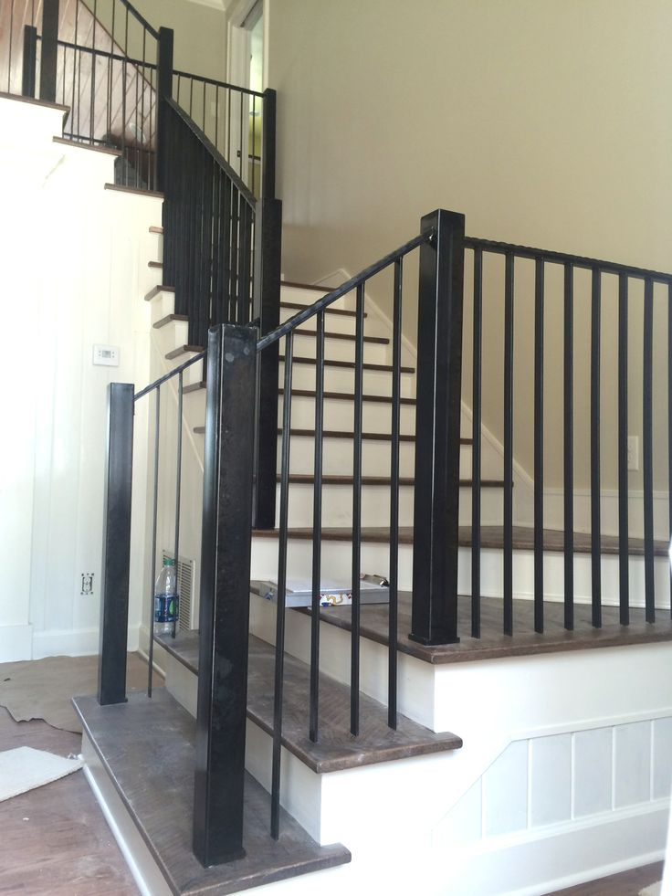 Custom Stair Railing By St Udio Metal