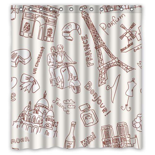 17 mejores ideas sobre cortinas de ducha de tela en for Quiero ver cortinas