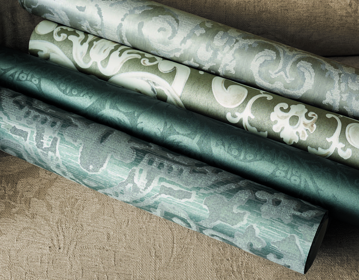 Constantina Damask Wallpapers by @ZoffanyFW available from Rodgers of York #wallpaper #interiors