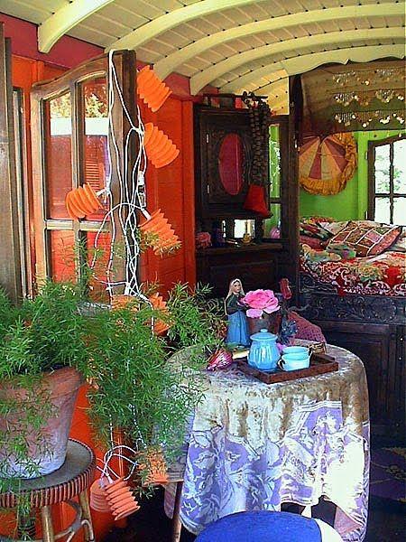 Interior of the Gypsy Trailer!Gypsy Soul, Gypsy Style, New Apartment, Gypsy Caravan, Caravan Interiors, Gypsy Wagon, Bohemian Style, Bedrooms Decor, Bohemian Gypsy