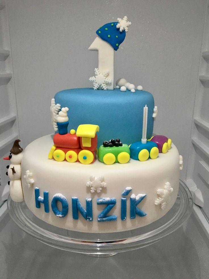 Children Train Cake, detsky dort vlacek
