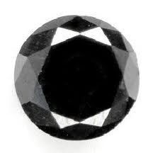 """Black Diamond or Carbonado is a very unusual stone. It is a poly-crystalline structure, meaning that each black diamond contains many small cystals fused together.  The Black Diamonds are not from Planet earth. They arrived in meteors about 2.3 billion years ago. Diamond is a stone of exceptional power and miraculous abilities. It is a king of gems, the strongest precious stone. Ancient Greeks named it """"adamas"""", meaning invincible, indestructible."""