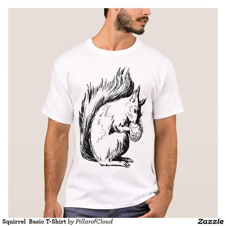 Squirrel  Basic T-Shirt