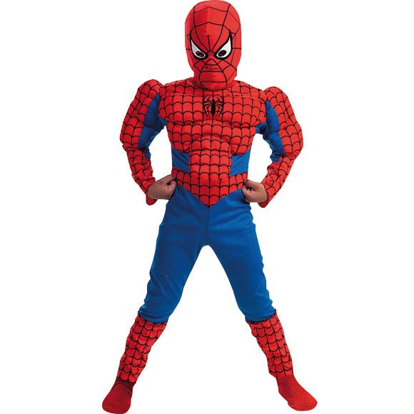 Déguisement spiderman (enfant) - Annikids