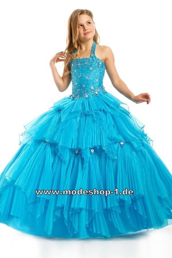 Chiffon Kleid Abendkleid für Mädchen Ballkleid ...
