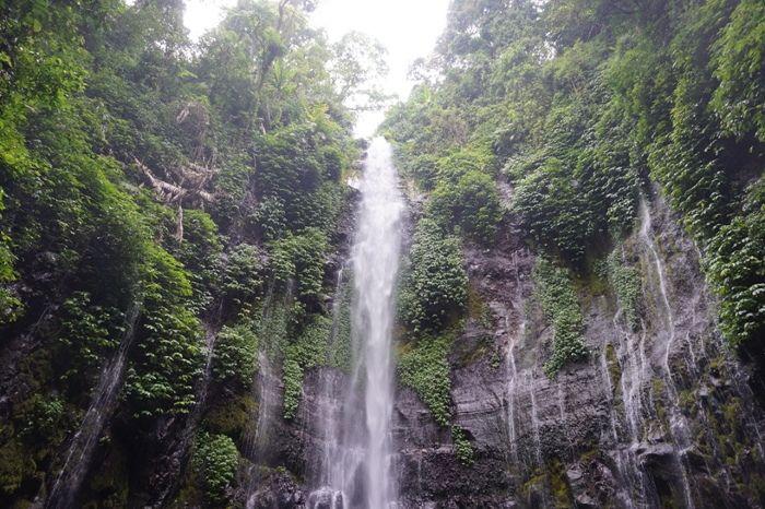 Curug Lawe. Air terjun cantik di lereng Gunung Ungaran, Jawa Tengah