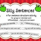 A fun sentence structure activity! For groups or individual work. Compound, complex, compound-complex practice. Differentiated – Just print and teach!  Students cut out the clauses to create sil...