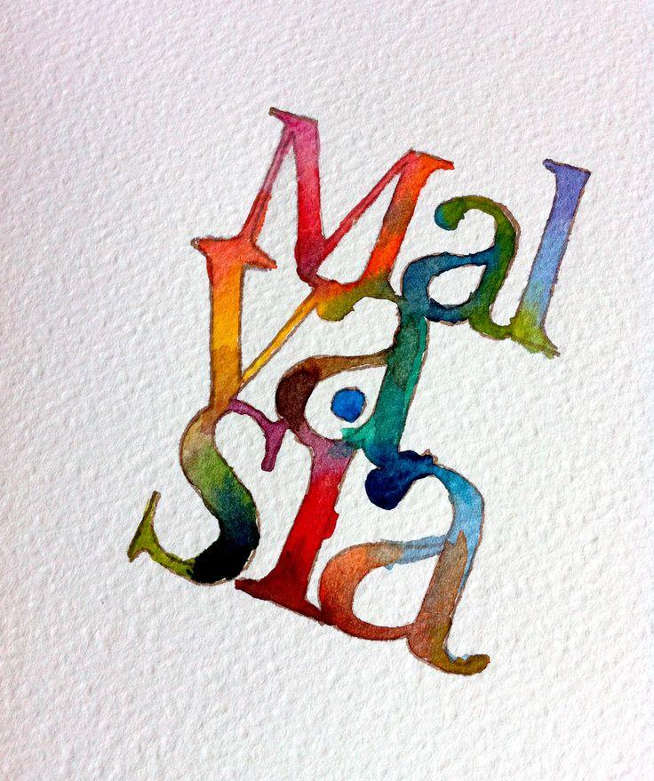 #watercolor #malvasia #type #lettering #art