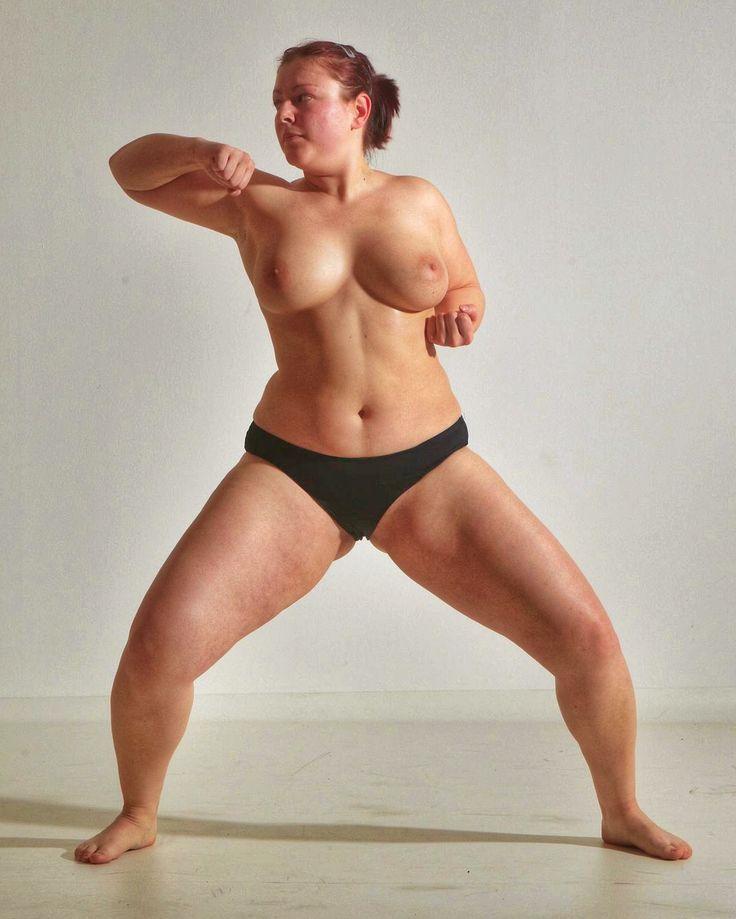 little geek girl poses naked