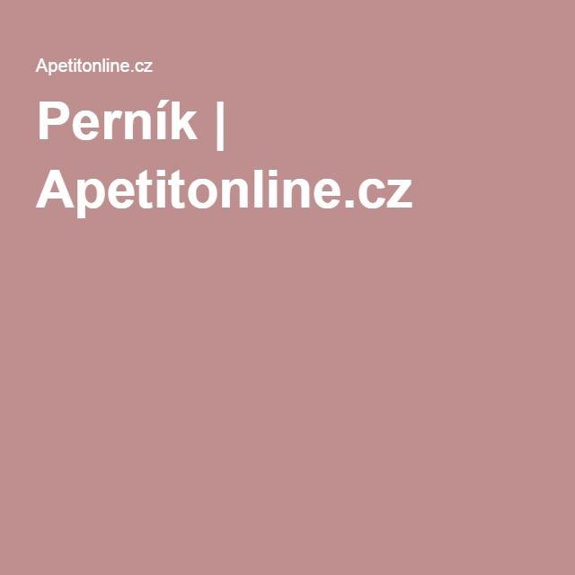 Perník   Apetitonline.cz
