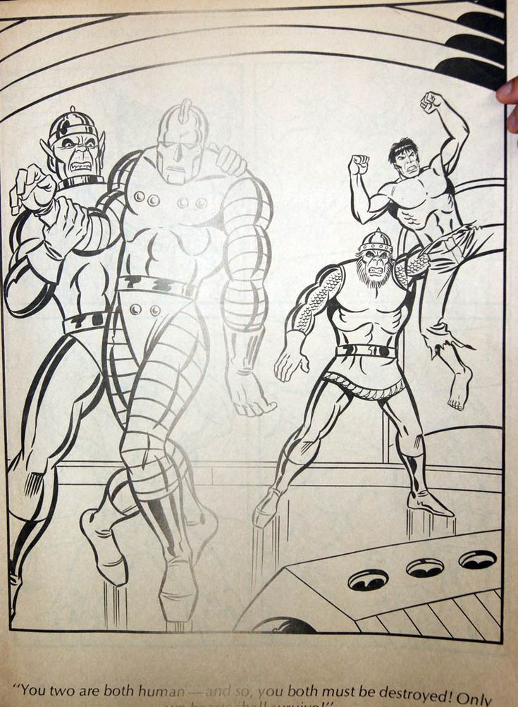 The Incredible Hulk Giant Story Colouring Book By Parkes Run I Recently Discovered Photos Of This Taken In 2011 At My Pal Jeffs Sto