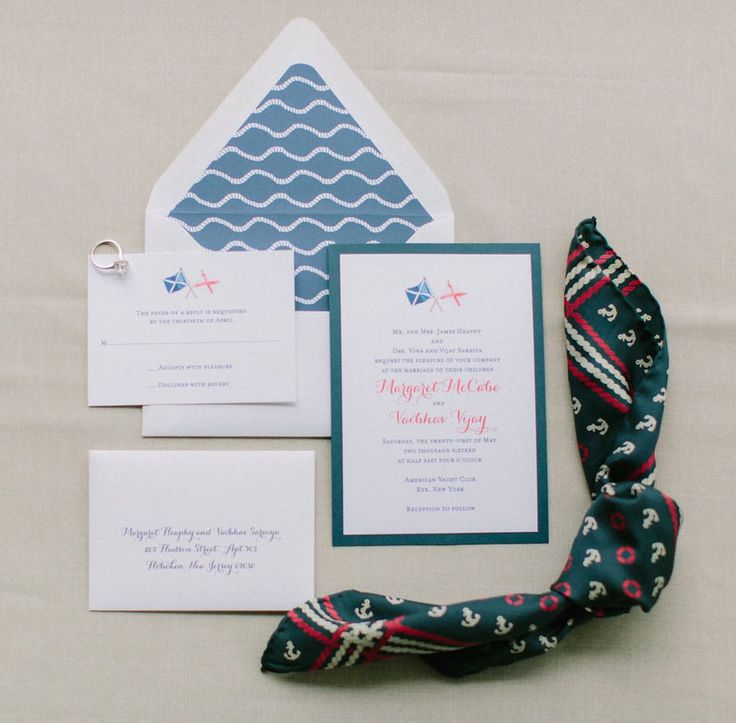 how to get directions for wedding invitations%0A    Seaworthy Nautical Wedding Invitations  Nautical flags wedding  invitations by Mospens Studio