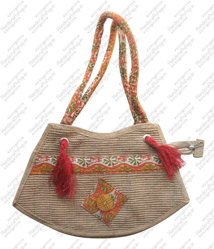 Get #jutebags cotton print online with #handicraftshopindia