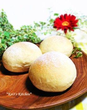 白神こだま酵母と湯だねでふわふわパン by keiO3 [クックパッド] 簡単 ...