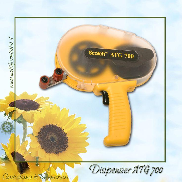Dispenser ATG 700 <3 Dispenser 3M originale per un montaggio fotografico professionale. #scotchbiadesivo