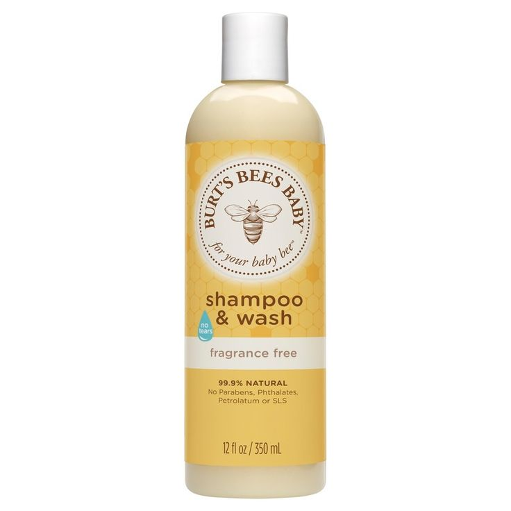 Burt's Bees Baby Bee Fragrance Free Shampoo & Wash - 12 oz