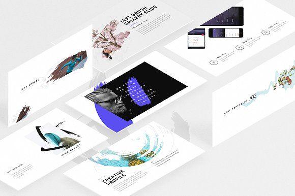 Burte-Powerpoint Template by Dublin_Design on @creativemarket