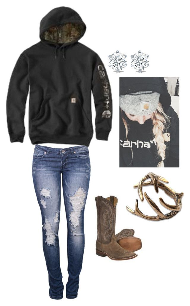 """""""Just a dime store cowgirl"""" by johndeerebabe on Polyvore"""