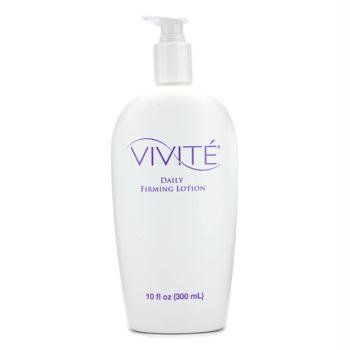 Vivite Daily Firming Lotion-10 oz by Vivite. $28.06. For Firmer, Toned Skin  If you desire firmer, toned and tighter skin, here's a perfect product for you. Vivite Daily Firming Lotion is a 15 percent glycolic-based lotion that firms, tones and reduces the appearance of cellulite. Vivite Daily Firming Lotion contains fatty acids that deeply nourish and soften your skin.  Eliminates dulling dead skin Nourishes  Softens the skin   Get that perfect firm and toned skin with Vivite D...