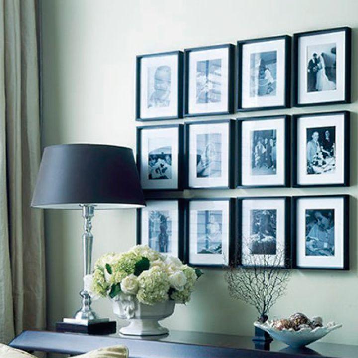 Uma parede de muitas memórias e recordações. Inspire-se!!