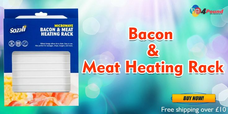 Order Microwave Bacon & Meat Heating Rack at Low Price