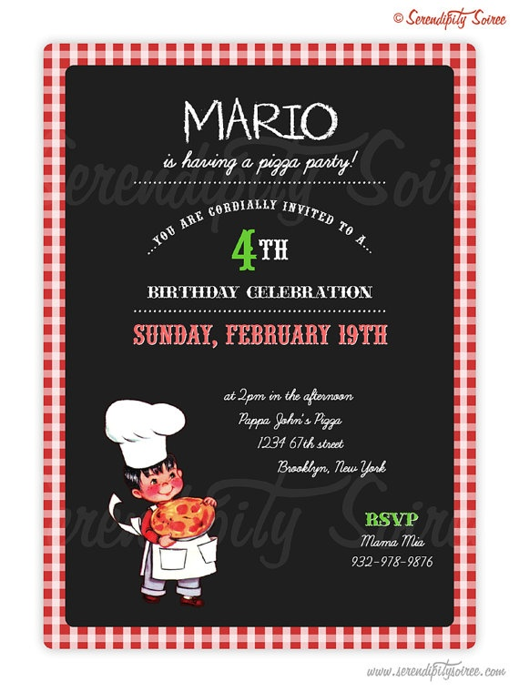 Vintage Pizza Party - Serendipity Soiree