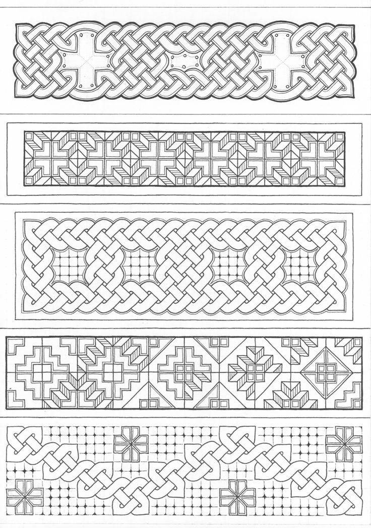 Celtic Inspired Design, bladwijzers, 2015-02-24, http://wittewaterlelie.blogspot.nl/