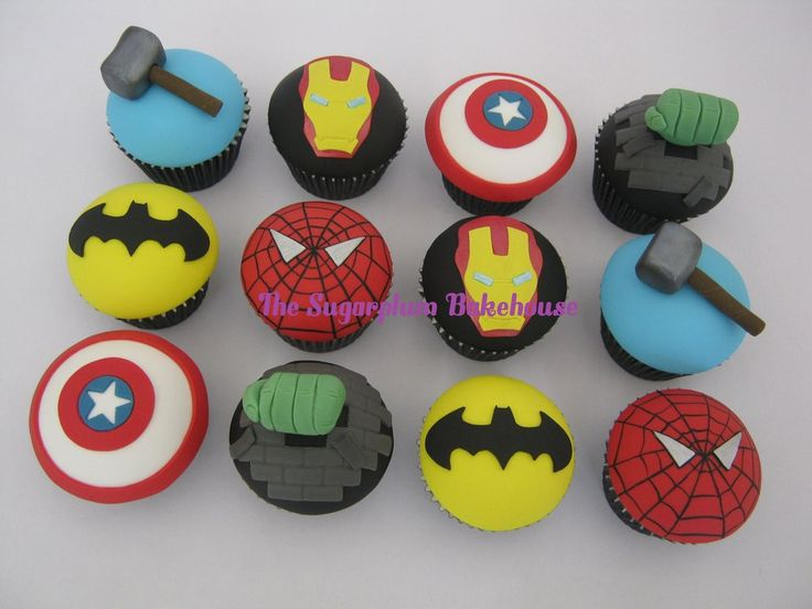 Marvel Superhero Cake Toppers