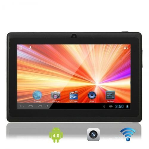 """7"""" Capacitive Touch Screen A13 Android 4.0 8GB Tablet PC with Dual-Camera WIFI B Just one day left $76.25"""