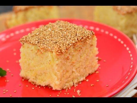 Tahinli kek tarifi - YouTube