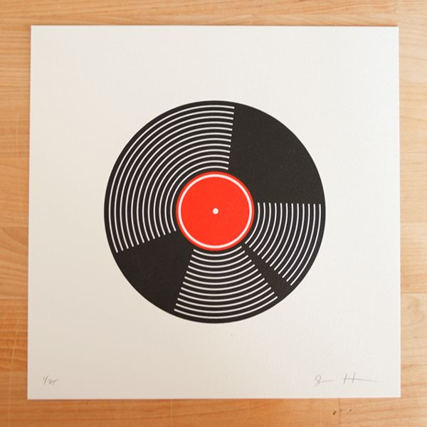 Vinyl / Record artwork. #music #records #vinyl http://www.pinterest.com/TheHitman14/for-the-record/