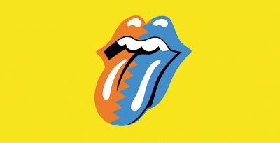 Un diferente tongue and lips de los Rolling Stones