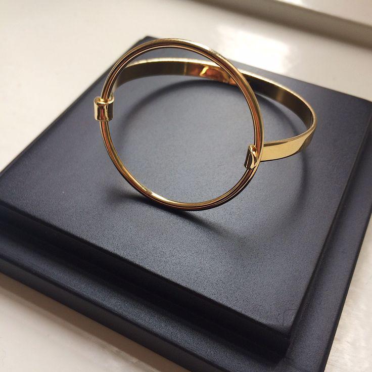 A Y M Gold Bracelet