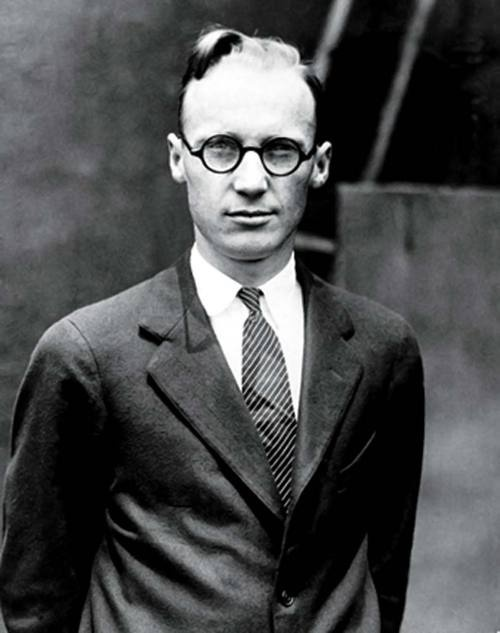 John Scopes was a young high school biology teacher in Dayton, Tennessee when the Butler Act of 1925, which banned the teaching of evolution in schools, was made law. He then teamed up with the American Civil Liberties Union and put the law to the test, teaching his students about evolution anyways, and ultimately being prosecuted for it.