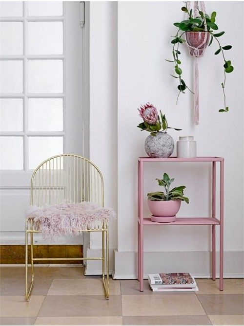 Marvelous Roseware Planter Pink