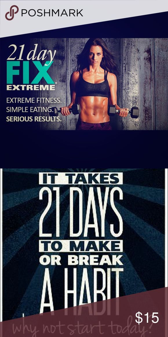 21 Day Fix Extreme DVD Set Join the fitness craze without the beachbody.com commitment! Other