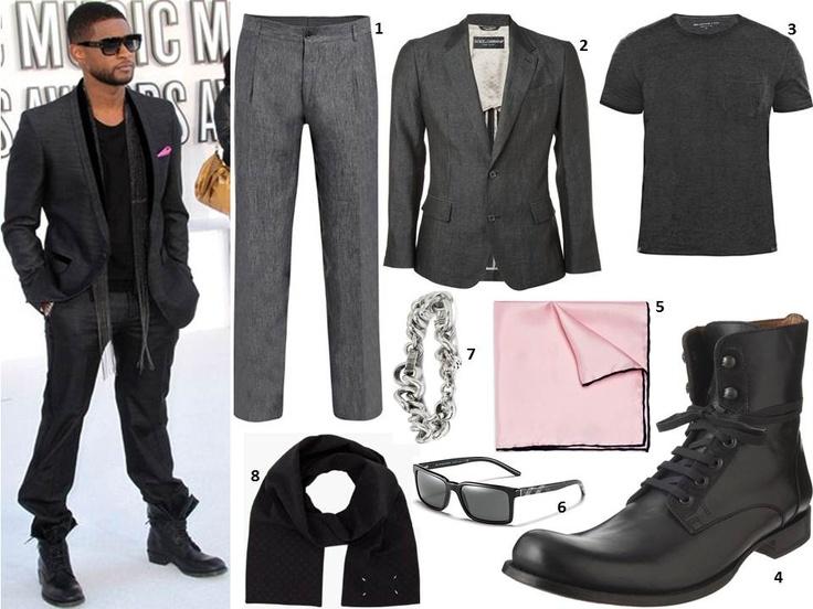 Usher. Sexiest male dresser, by far.