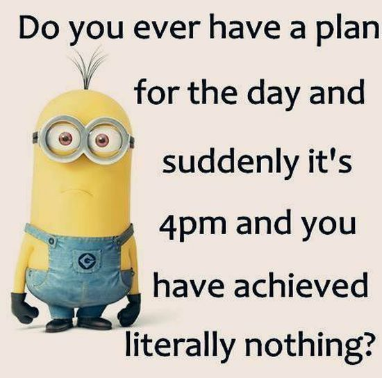 Funny Weekend Minion Quote