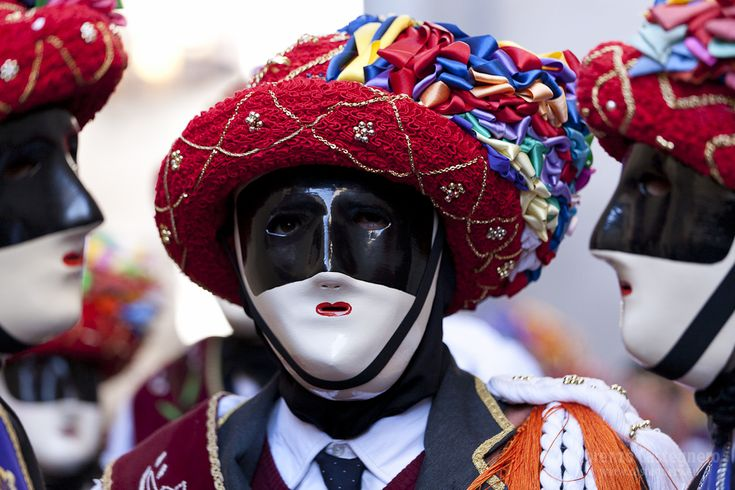 Carnival - Bagolino, Lombardy - February 11 and 12~ festival began in the 16th century. the origin was a courtship ritual